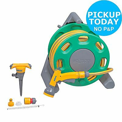 Hozelock Compact Garden Hose Reel Set - 20M. From the Argos Shop on ebay