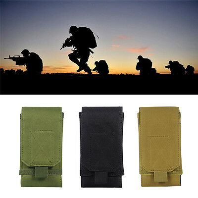 Military Hip Waist Molle Belt Bag Wallet Pouch Purse Phone Case Hiking Camping