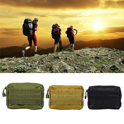 Outdoor Molle Pouch EDC Utility Gadget Belt Phone Waist Bags Fanny Pack Hiking