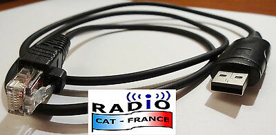 CABLE CAT programmation ICOM USB IC-F IC-A IC-FR F OPC