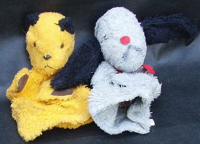 Pair of Vintage Chad Valley Soot & Sweep Glove Puppets