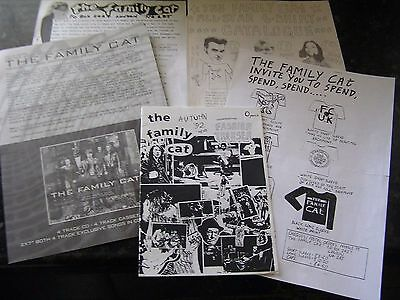 The Family Cat 1992 Promo News... 1993 News Letters