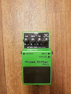Boss PH-3 Phase Shifter Guitar Effect Pedal
