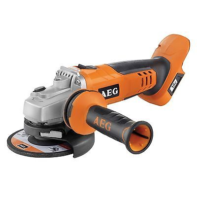 AEG 18V 125mm Cordless Angle Grinder - Skin Only