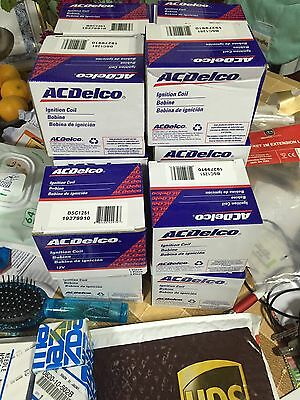 Genuine D585 LS2 Coil Pack AC DELCO - Mazda RX8/V8's/Turbo/ Drift - SET OF 4