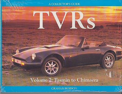 Tvr Tasmin 420Seac Tuscan Griffith Chimaera Design & Production History Book New