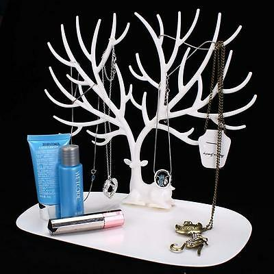 Jewelry Necklace Ring Earring Tree Stand Display Organizer Holder Show Rack AD