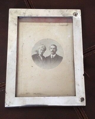 Vintage Silver Photo Picture Frame - William Neale Birmingham 1944