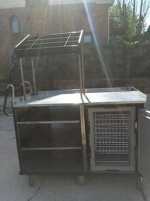 Lakeside Vending Food Mart Cart  with Thermo Safe Storage