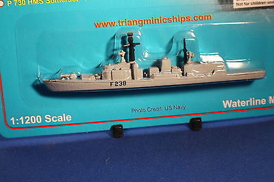 HMS NORTHUMBERLAND F238 Triang Minic Ships Type 23 Frigate Mint carded