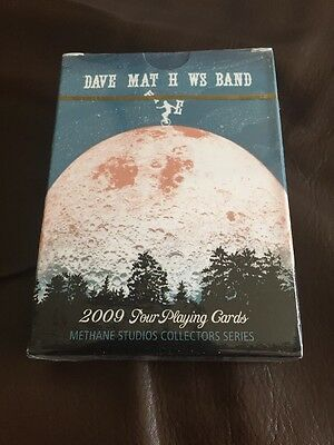 RARE Dave Matthews Band (DMB) 2009 1st Edition Tour Poster Playing Cards!