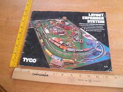 TYCO Trains Layout Expander System manual booklet 1977
