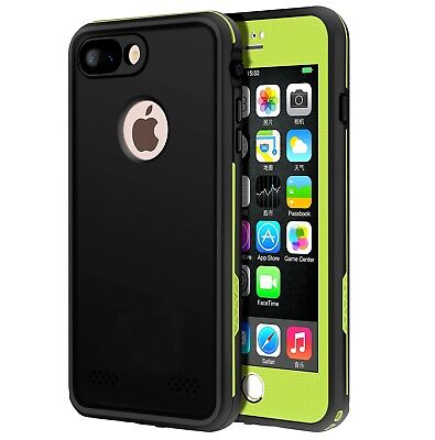 For Apple iPhone 8 plus Case Waterproof Cover with Built-in Screen Protector