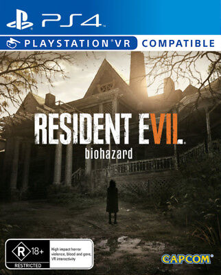 Resident Evil 7 Biohazard PlayStation VR PS4 Game NEW