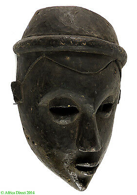 Colonial Ekpo Society Mask Ibibio Cross River African Art SALE WAS $195