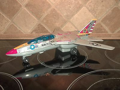Vintage Son AI Toy F-14A Tomcat Jet Fighter Plastic Tin Litho Parts/Repair Works