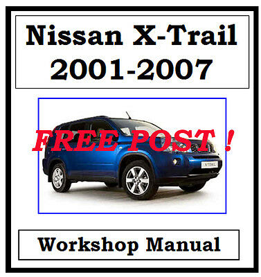 Nissan X-Trail Xtrail T30 2001-2007 Factory Workshop Manual On Cd - The Best !!