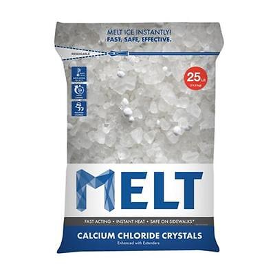 Snow Joe MELT25CC 25 lbs. Calcium Chloride Crystals Ice Melter
