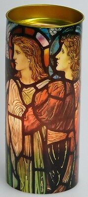 FindSomethingDifferent Four Angels Stained Glass Effect Candle