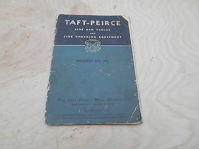 Taft - Peirce Sine Bar Tables