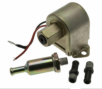 12v 12 Volt Universal Electric Fuel Pump Diesel Petrol Low Pressure 4-6 PSI