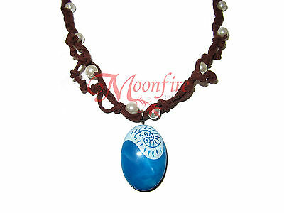 Moana Magical Seashell Pearl Pendant Necklace Intricate Best Quality!!
