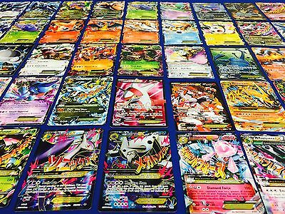 Pokemon Card Lot : 5 RANDOM EX & FULL ART CARDS - PREMIUM LOT NEW