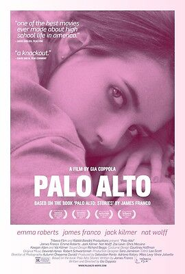 "Palo Alto movie poster - Emma Roberts poster - 11"" x 17"""