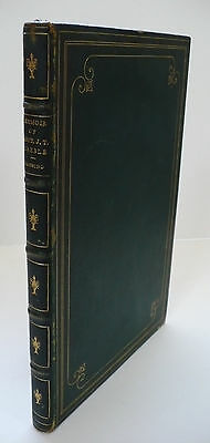 Rare President Ulysses Grant Owned Civil War Privately Printed Book By Lossing