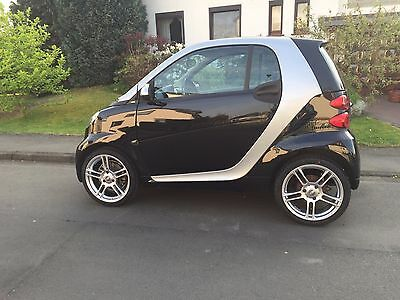 4 SMART WHEELS ARGENTINA ALUFELGEN 6,5+ 7,5 x 17 Zoll SMART Fortwo Coupe Typ 451
