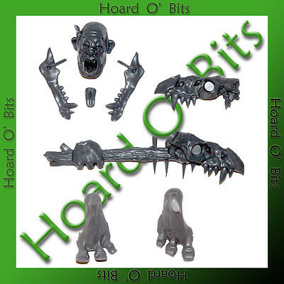 Warhammer Bin Bits Giant - Orc Version Head Hand Feet