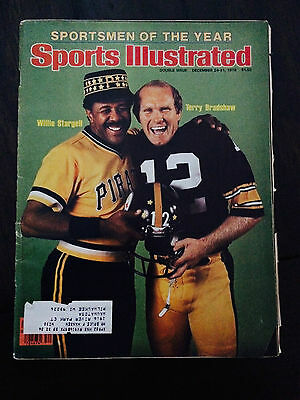 1979 Sports Illustrated Terry Bradshaw Willie Stargell Steelers Pirates