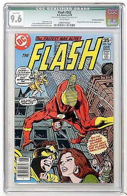 Flash #262 CGC 9.6 Qualified WP  Don Rosa Collection