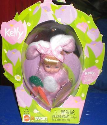 Easter Garden Barbie Kelly Club Pink Bunny Carrots Target Exclusive NRFB 2002