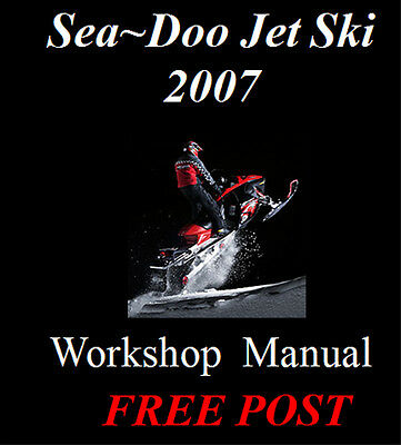 2007 seadoo gti Manual