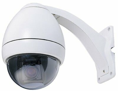 Cop Security 15-CD523W-S223 Indoor/Outdoor Day/Night PTZ Camera with ICR and 23X