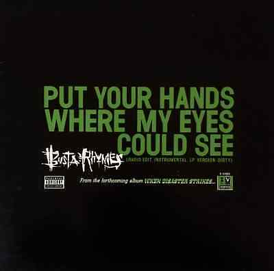 """BUSTA RHYMES - Put Your Hands Where My Eyes Could See (12"""") (VG-EX/VG)"""