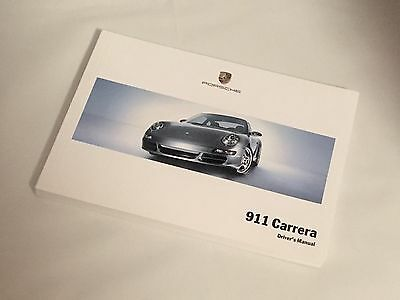 Porsche 997 Gen1 Carrera 3.6 3.8 S 4S Drivers Owners Manual 05 Handbook 2005 New