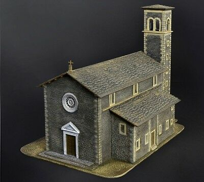 Church Chiesa Diorama Plastic Kit 1:72 Model ITALERI