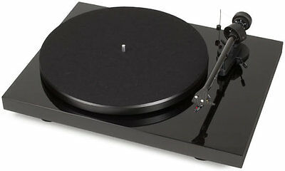 Pro-Ject Debut Carbon DC Turntable - Gloss Black With £30 of Free Vinyl