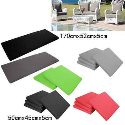Outdoor Bench Chair Swing Seat Cushion Patio Garden Furniture Pad Seater LE