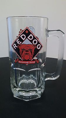 Red Dog Uncommonly Smooth U.R. Your Own Dog Beer Mug Plank Road Brewery 1997