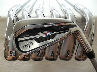 """used"" Callaway Xr Irons 4-Pw + Regular Speedstep Steel Shafts / Mint Condition"
