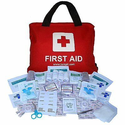 Premium First Aid Kit Bag for Travel, Car, Home, Camping, Work, Hiking, Survival
