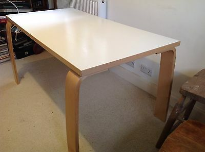 Beautiful white office/dining table by Ikea