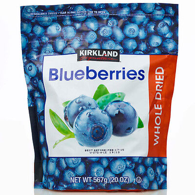 Whole Dried Blueberries 567g