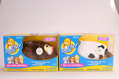 Zhu-Zhu Pets Hamster 2-Pack Captain Zhu and Bamboo Batteries Included New In Box