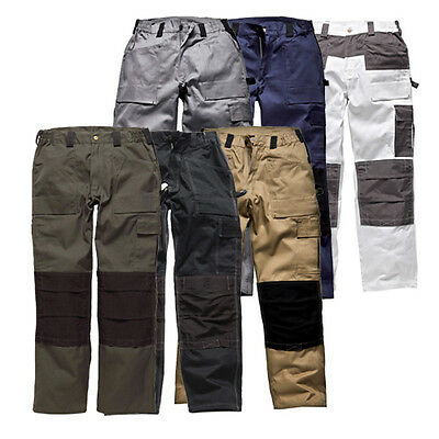 Dickies Gdt290 Grafter Duo Tone Multi Pocket Work Pants Trousers  Wd4930 *offer*
