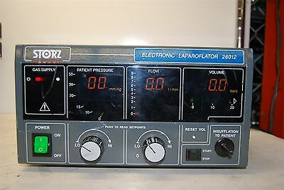 Storz Electronic Surgical Laparoflator 26012 POWER TESTED ONLY
