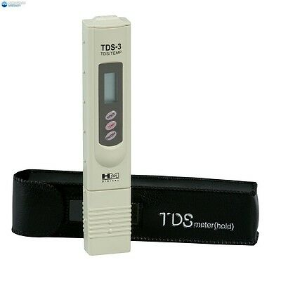 HM Digital TDS-3 Handheld Meter with Carrying Case